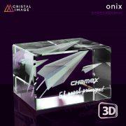 Cristal Onix 50x50x80mm